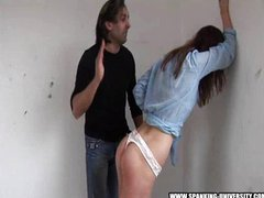 Spanking Summers ass punishment