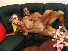 Hairy Mature With Big Saggy Tits Fucked by TROC
