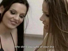 Seriously sensual lesbian sex is hard to resist