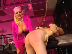 Slave slut is abused and her pussy fisted