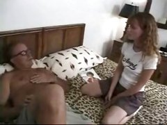 Molly Rome groped by dirty old man