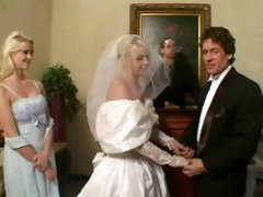 Normal Wedding turns into fucked up latex mmf