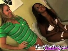 Girls Farting Contest