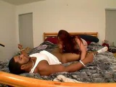Anal Mynx gets black chocolate dicked