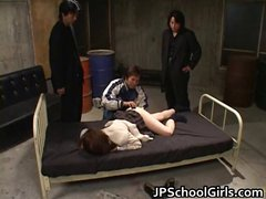 Cinema Yuki Sexy Asian Student dildoing part4